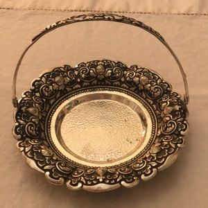 Small Silver Plate - Decor